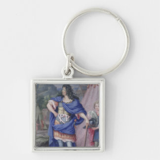 Portrait of Louis XIV  King of France Key Ring