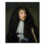 Portrait of Louis XIV Poster