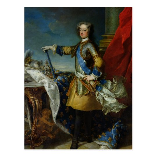 Portrait of Louis XV King of France, c.1727