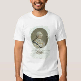 Portrait of Louis XVI (1754-93) from 'Portraits de Shirt