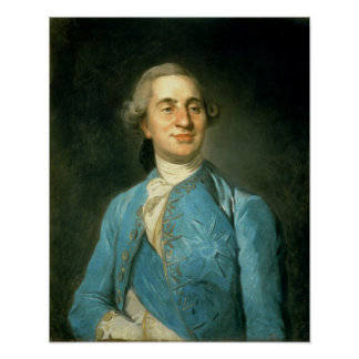 Portrait of Louis XVI  1775 Poster