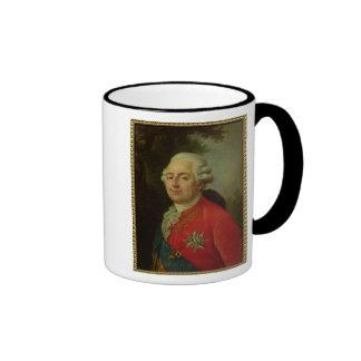 Portrait of Louis XVI  King of France Ringer Mug
