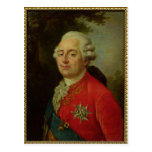 Portrait of Louis XVI  King of France Postcard