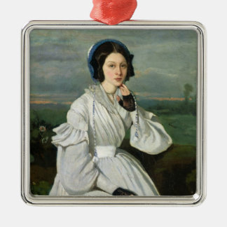 Portrait of Louise Claire Sennegon Christmas Ornament