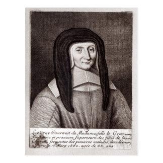 Portrait of Louise de Marillac Postcard