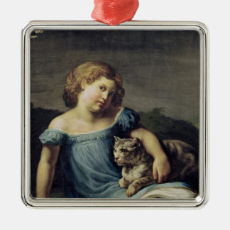 Portrait of Louise Vernet as a Child, 1818-19 Christmas Ornament