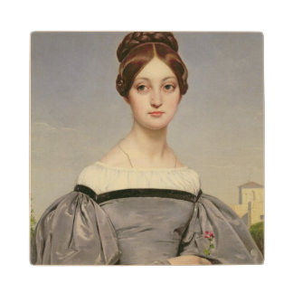 Portrait of Louise Vernet  Daughter of the Maple Wood Coaster