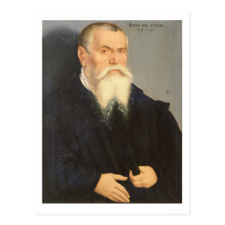 Portrait of Lucas Cranach the Elder (1472-1553) 15 Postcard