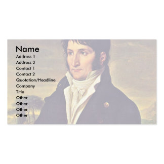 Portrait Of Lucien Bonaparte Double-Sided Standard Business Cards (Pack Of 100)