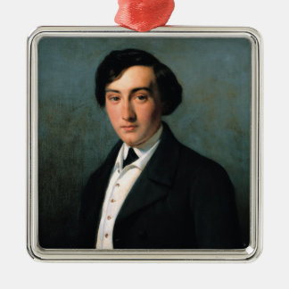 Portrait of Lucien Petipa  1849 Christmas Ornament