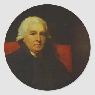 Portrait of Lucius O Beirne by Henry Raeburn Sticker