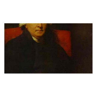 Portrait of Lucius O'Beirne by Henry Raeburn Pack Of Standard Business Cards