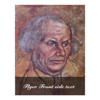 Portrait Of Luther'S Father By Cranach D. Ä. Lucas 21.5 Cm X 28 Cm Flyer