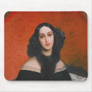 Portrait of M.A. Bek, 1840 Mouse Pad