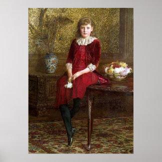 Portrait of Mabel G Print