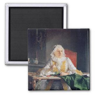 Portrait of Madame Antoine Crozat, 1741 Refrigerator Magnets