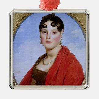 Portrait of Madame Aymon, or La Belle Zelie Christmas Ornament