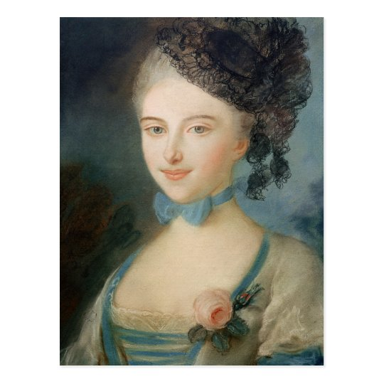Portrait of Madame Balzac, c.1798 Postcard