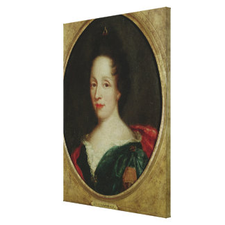 Portrait of Madame Champmesle Stretched Canvas Print