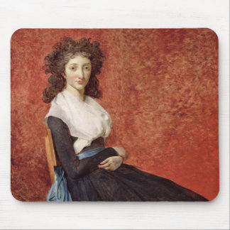 Portrait of Madame Charles-Louis Trudaine Mouse Mat