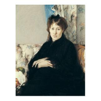 Portrait of Madame Edma Pontillon 1871 Post Cards