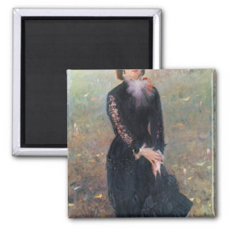 Portrait of Madame Edouard Pailleron, 1879 Refrigerator Magnet