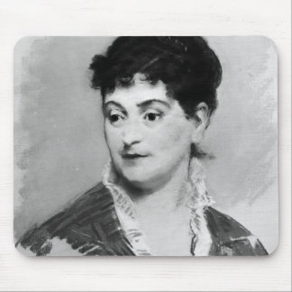 Portrait of Madame Emile Zola, 1874 Mouse Pad