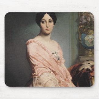 Portrait of Madame F, 1850-51 Mouse Mat