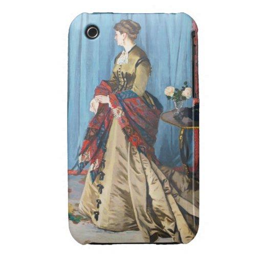 Portrait of Madame Gaudibert Claude Monet Case-Mate iPhone 3 Case