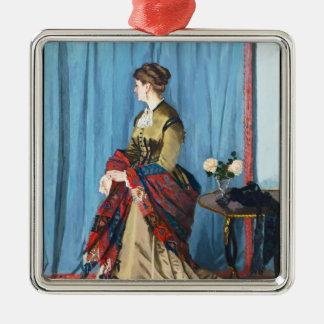 Portrait of Madame Gaudibert Claude Monet Ornaments