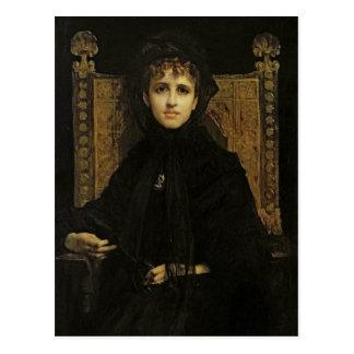 Portrait of Madame Georges Bizet 1878 Postcards