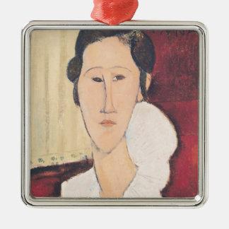 Portrait of Madame Hanka Zborowska, 1917 Christmas Ornament