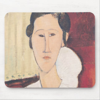 Portrait of Madame Hanka Zborowska, 1917 Mouse Mat