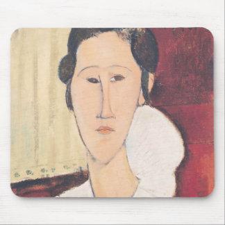 Portrait of Madame Hanka Zborowska, 1917 Mouse Pad