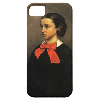 Portrait of Madame Jacquet (oil on canvas) Case For The iPhone 5