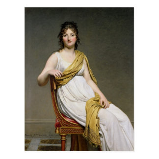 Portrait of Madame Raymond de Verninac  1798-99 Postcard
