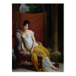 Portrait of Madame Recamier Post Card