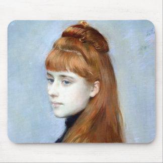 Portrait of Mademoiselle Alice Guerin Mouse Mat