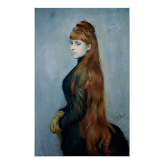 Portrait of Mademoiselle Alice Guerin Poster