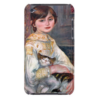 Portrait of Mademoiselle Julie Manet by Renoir Barely There iPod Cases