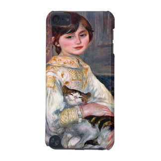 Portrait of Mademoiselle Julie Manet by Renoir iPod Touch 5G Cover
