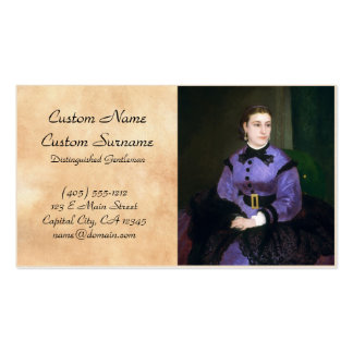 Portrait of Mademoiselle Sicot Auguste Renoir Pack Of Standard Business Cards