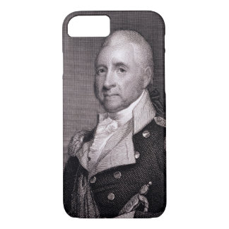 Portrait of Major General John Brooks, engraved by iPhone 8/7 Case