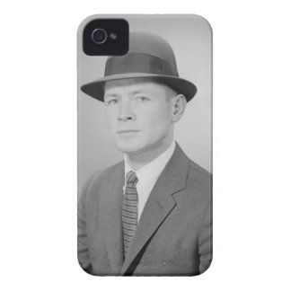 Portrait of Man iPhone 4 Cover