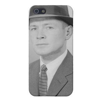 Portrait of Man iPhone 5 Case