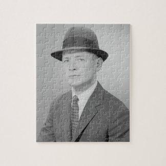 Portrait of Man Jigsaw Puzzle