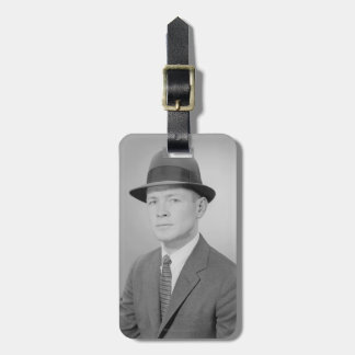 Portrait of Man Luggage Tag