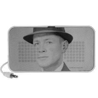 Portrait of Man Speaker System
