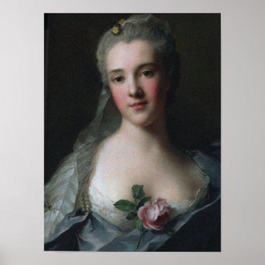 Portrait of Manon Balletti Poster