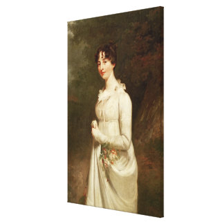 Portrait of Marcia. B. Fox Canvas Print